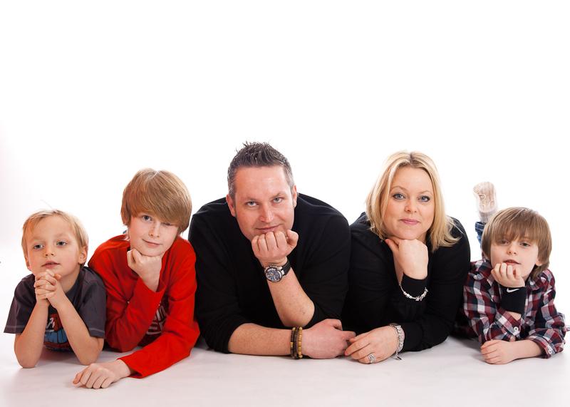 Craig, Sarah and kids-16
