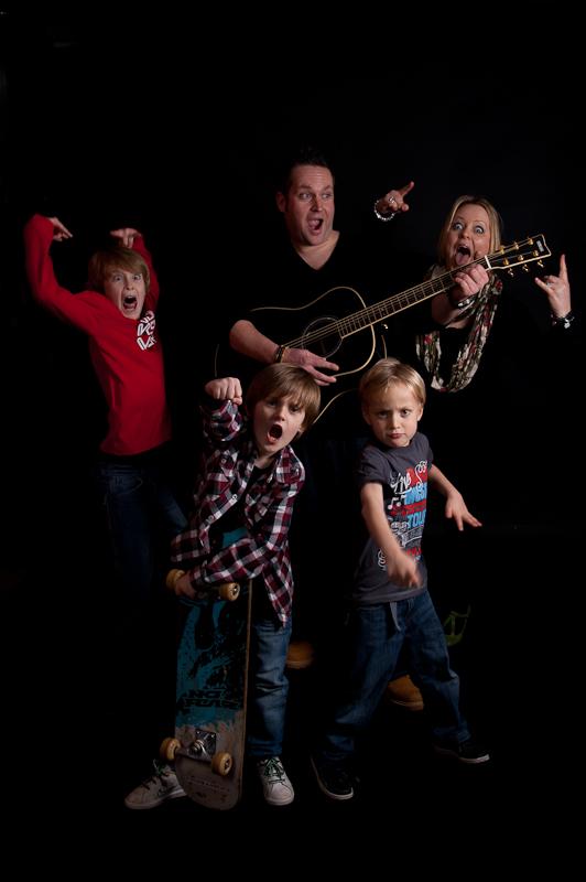 Craig, Sarah and kids-31